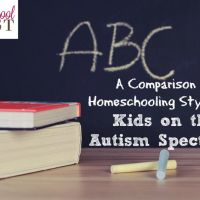A Comparison of Homeschooling Styles for Kids on the Autism Spectrum