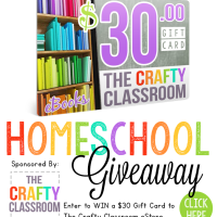 The Crafty Classroom Homeschool Giveaway