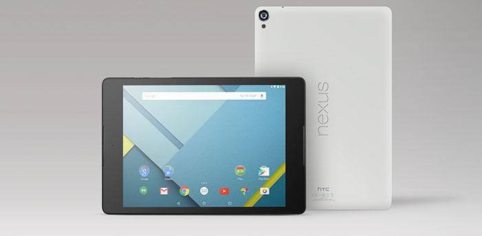 HTC・Google、「Nexus 9」を公開─11月4日に国内販売開始へ