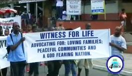 Roman Catholic march for Pro-Life