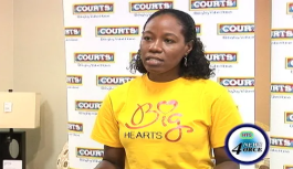 Courts donates to fire victims