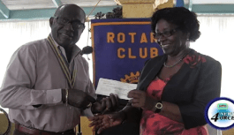 Rotary Club gives fundraiser proceeds to GG