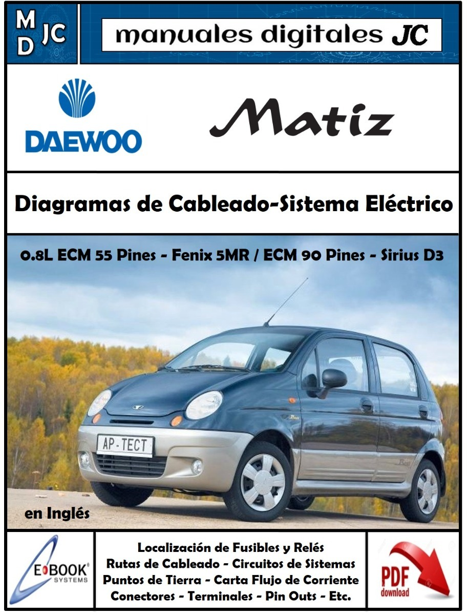 Daewoo Matiz 0 8 Wiring Diagram - Schematics Wiring Diagrams •