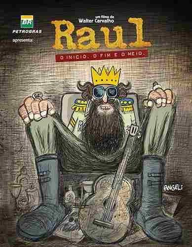 Poster do filme Raul - O Início, o Fim e o Meio