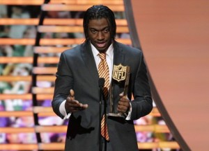 2nd Annual NFL Honors   Show 06389 1987 300x218 Robert Griffin III Wins NFL Rookie of the Year (Video)