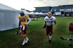 Washington Redskins Training Camp Drills 7-26-2014