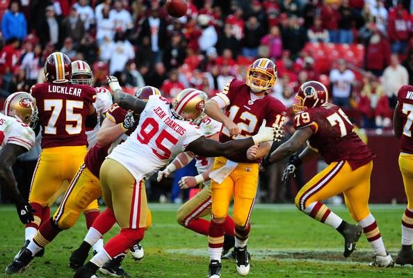 Redskins Sign Defensive End Ricky Jean-Francois