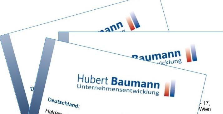Empfehlungsmarketing mit Visitenkarten
