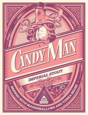 Mad Scientist CANDY MAN 12% 330ml üveges