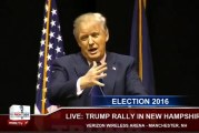 """Donald Trump Supporter Calls Ted Cruz """"a pussy"""", Trump repeated it"""