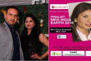 Secaucus Welcomes Mrs India Earth Finalist