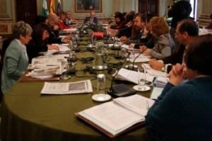Pleno del Ayuntamiento de Huelva.