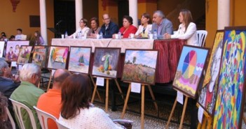 Lectura colegio Zenobia de Moguer.