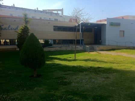 Centro salud de Isla Cristina.