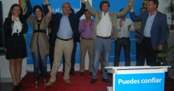 Presentación del candidato del PP en Lucena del Puerto.