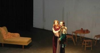 Actuación en el Gran Teatro. (Foto: Julián Pérez)