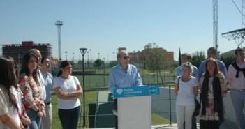 Presentación del programa de Deportes del PP.