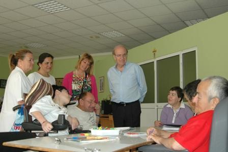 Visita de Pedro Rodríguez en el distrito 2.