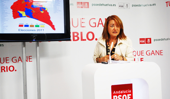 Antonia Mora, portavoz del PSOE.