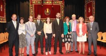 El equipo municipal de Ayamonte.