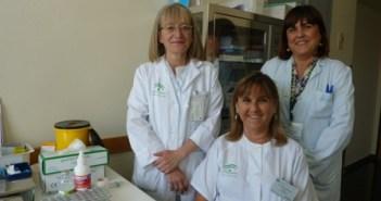 Enfermeras del Juan Ramón Jiménez que han sido galardonadas