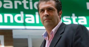 Francisco Ramos, secretario provincial del PA. (Julián Pérez)