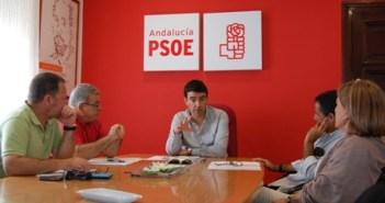 CCOO y UGT se han reunido con el PSOE.