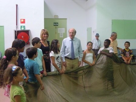 Campamento de Verano del Lazareto.