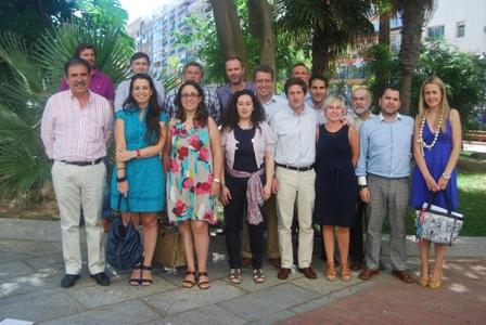 Concejales de Economía del PP en la provincia.