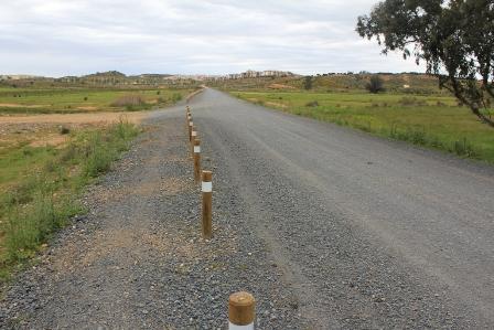 Camino para hacer senderismo en Ayamonte