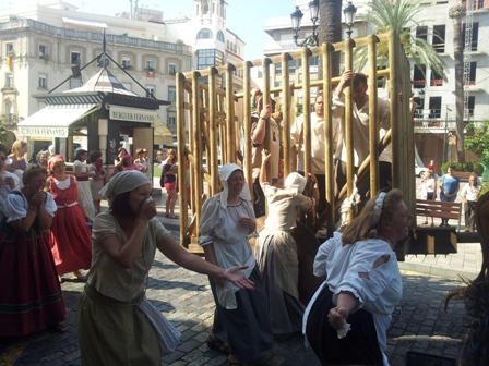 Pasacalles de las Jornadas Medievales en una edición anterior.