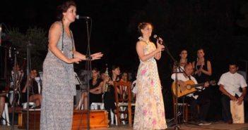 Actuación de Lauri y Alicia con el Liceo.