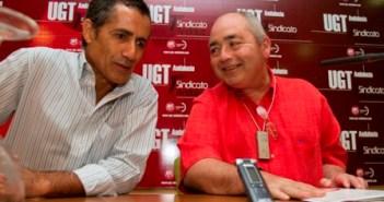 Jorge Puente y Manuel Pastrana. (Foto: Julián Pérez)