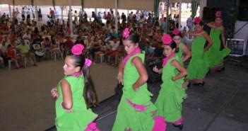 Actuación durante la Velada.