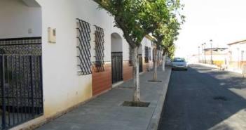 Calle cuyas obras han finalizado en La Palma.