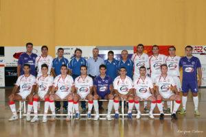 Primer equipo del Smurfit Kappa de fútbol sala de La Palma.