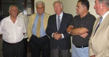 Autoridades en el acto en La Palma.
