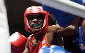 Kelvin de la Nieve, boxeador onubense.