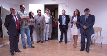 Visita del rector de la UHU a Almonte