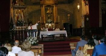 Aniversario de la aparición de la virgen en Moguer.