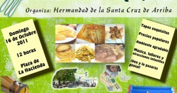 Cartel de la Fiesta de la Tapa en Rociana.