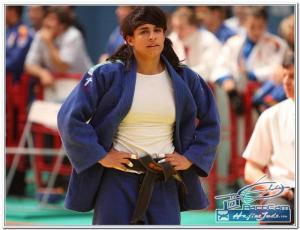 Cinta García, judoka del Club Torii.