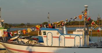 Embarcación de pesca de Lepe.