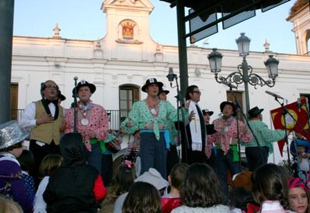 'Chochá' en el Carnaval de Cartaya.