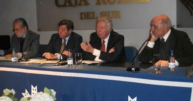 Conferencia en la Fundación Caja Rural del Sur.