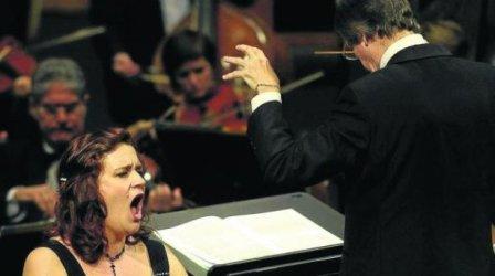 Katia Metlova, que cantará junto al tenor Carlos Vinsac.