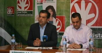Francisco Ramos y Francisco Quirós, en rueda de prensa.