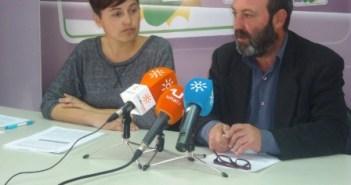 Pedro Jiménez e Isabel Lancha.