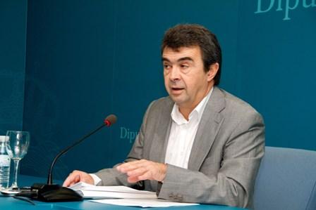 José Martín, portavoz del PSOE en la Diputación y exalcalde de Aljaraque.