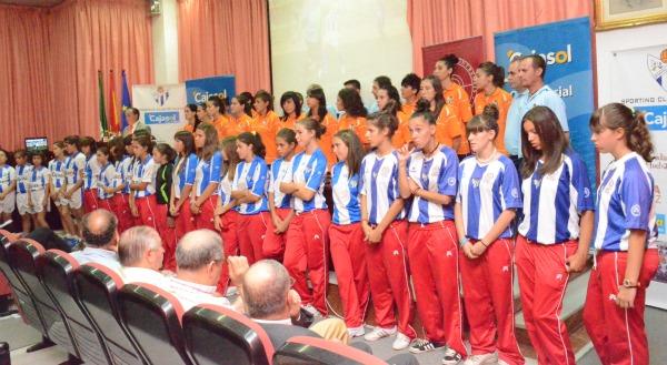 Presentación del Cajasol Sporting para esta temporada.